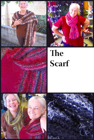 The Scarf photo collage